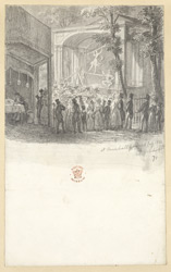 A Performance In Vauxhall Gardens, London, 1832